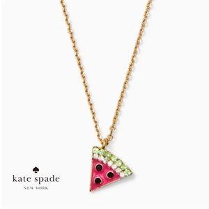 kate spade Watermelon Mini Pendant Necklace NWT